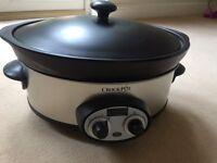 Crockpot 6qt slow cooker used twice
