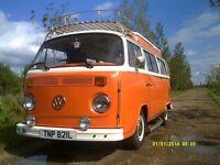 VW T2 Baywindow camper