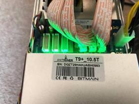antminer T9 - bitcoin SHA-256 coins