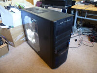 "Super fast Phenom Hex-Core PC set up. 14GB RAM. 21.5"" monitor. Gaming keyboard and mouse."