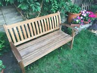 Quality Teak Garden Bench - Cantenbury Collection