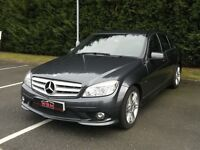 Mercedes-Benz C Class 2.1 C220 CDI BlueEFFICIENCY Sport 4dr 2 KEYS FULL SERVICE HISTORY