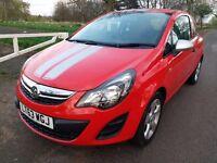 2013 63reg Vauxhall CORSA STING D Facelift 1.0 i ecoFLEX 12v 3dr, tax Band C (£30 low miles