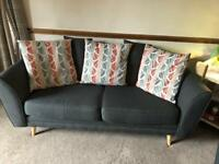 2 x seater sofas (will sell separately)
