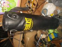 4 foot EVERLAST punch bag good condition £20 ono