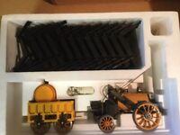 Hornby Stephenson Rocket Steam Train Set