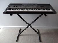 Yamaha electric keyboard; model PSR E443. Condition like new!