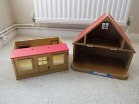 Sylvanian Families Cottage and Schoolroom