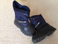 Trespass Kids snow boots - Henleaze Bristol (European Size 31)
