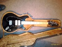Rare Vox Standard 25 Electric guitar with original hardcase
