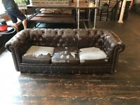 3 SEAT CHESTERFIELD SOFAS. 5 AVAILABLE