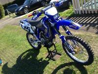 Yamaha yzf 426 road legal Motocross swap why