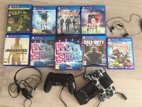 Playstation 4 PS4 with 8games and accessories in mint condition