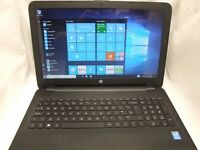 "HP 15-ay092na 15.6"" Intel core i3 WINDOWS 10 8GB RAM 1TB HDD Laptop"