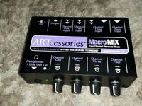 ART MacroMix Kompakter 4-Channel-Mixer