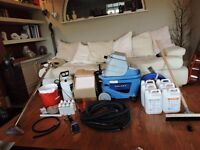 Complete Professional Carpet Extractor/Cleaning Kit. Start your own business