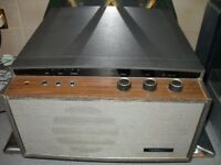 Vintage FERRANTI record player with Garrard turntable Model 2000