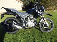 ASSAULT 125. BRAND NEW, WILL BE ON A '66' PLATE. On the road price £1,250 one only at this price.