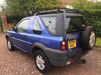 1 year mot Land Rover freelander 2ltr td4 gs low miles 78k