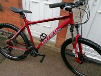 """CARRERA CENTOS 26"""" wheels 24 gears large frame in Fab condition"""