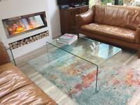 Glass Coffee Table - Contemporary REDUCED!