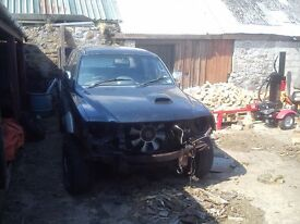 Mitsubishi L200 for spares