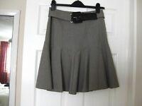 M&S ladies neutral colour skirt size 10