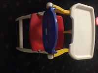 baby feeding high chair in good condition