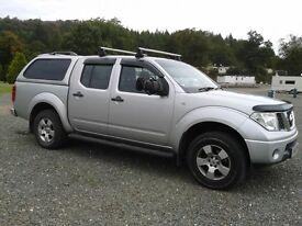 Nissan Navara Double Cab Pick Up. Automatic 84000 miles MOT to July 2017