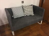 Living Room - IKEA KNOPPARP 2-Seat Sofa Grey