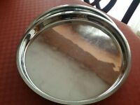 STAINLESS STEEL LARGE THALI