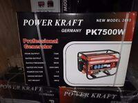 Generator pk7500w