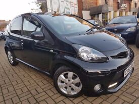 TOYOTA AYGO 1.0 VVT-i Fire 5dr, LOW MILAEAGE, ONE OWNER, ONE YEAR MOT,3 MONTHS WARRANTY
