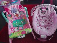 immaculate rocker & bouncer for sale