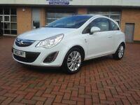 Vauxhall Corsa 1.2 i, 16v , 2012, SE SE 3dr , FULL MOT, FULL SERVICE HISTORY , ONE PRE OWNER