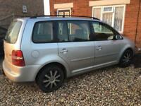 Vw touran 04 spares or repair