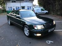 Lexus Ls400 Full Service History 12 Stamps- New MOT (Dynamic Handling Pack) Private plate included