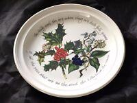 Portmeirion Christmas Plate
