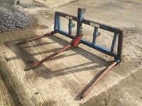 Tanco bale handler for sale - No VAT! - Tractor three point linkage