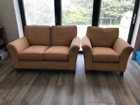 Sofa and Armchair Free for Collection
