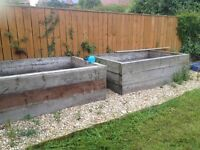 4 Raised beds/planters For Sale (£30 each)