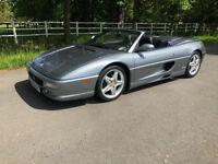 Ferrari 355 Spider F1 Grey 1999
