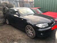 BMW 1 SERIES, 120 Se, 2004 BREAKING FOR SPARES