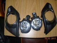 nissan X trail T32 fog lights