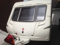 Abbey 215 GTS 2 berth Caravan Immaculate with Full Dorema Awning