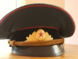 RUSSIAN Military hat - reduced