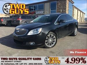 2013 Buick Verano Leather Package LEATHER NAVIGATION SUN ROOF