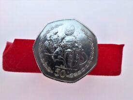 1997 - Isle Of Man TT Great Biker - 50 Pence Coin