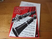 First Book of Clarinet Solos - Bb Clarinet and Piano