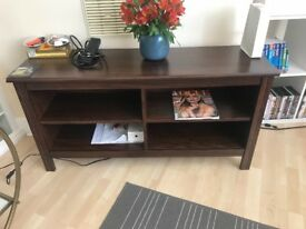 Ikea TV Stand - Brown